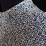 Birch Grey-Black Undulations Wrap detail